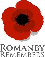 Romanby Remembers logo